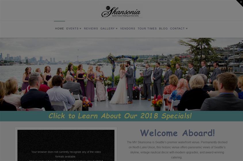 The MV Skansonia wedding vendor photo