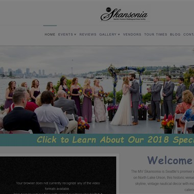 The MV Skansonia wedding vendor preview