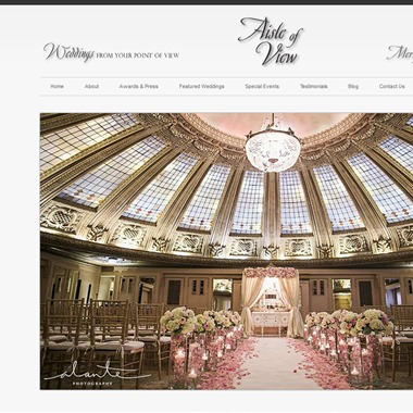 Aisle of View wedding vendor preview