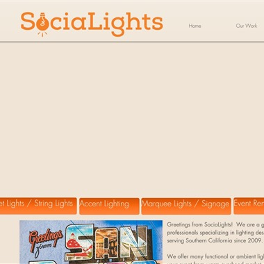 Socialight wedding vendor preview