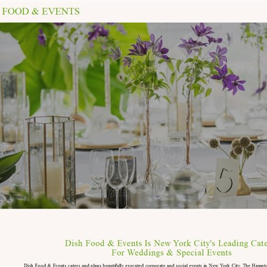 Dish Food & Events wedding vendor preview