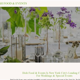 Photo of Dish Food & Events, a wedding caterer in New York