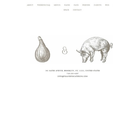 Fig & Pig Catering  wedding vendor preview