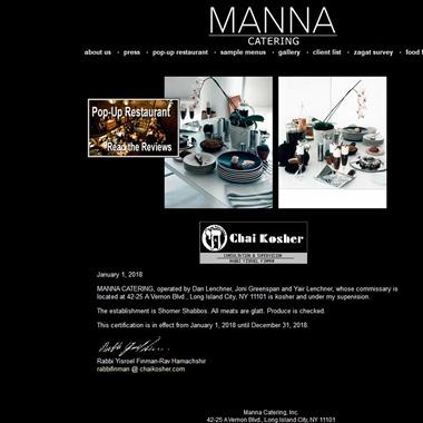 Manna Catering wedding vendor preview