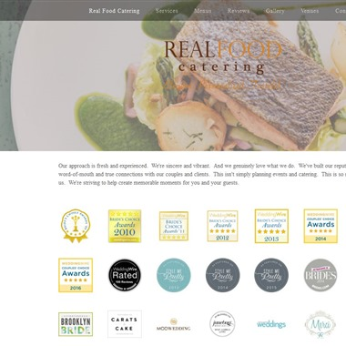 Real Food Catering wedding vendor preview