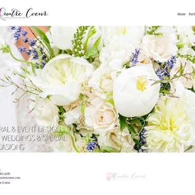 Quatre Coeur wedding vendor preview