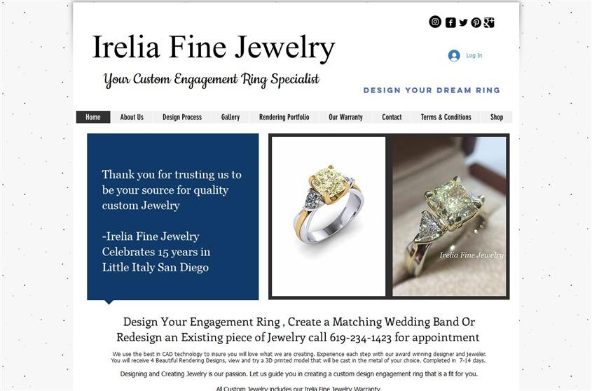Irelia Fine Jewelry wedding vendor photo