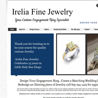 Irelia Fine Jewelry wedding vendor preview