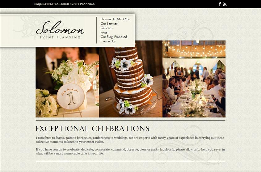 Solomon Event Planning wedding vendor photo