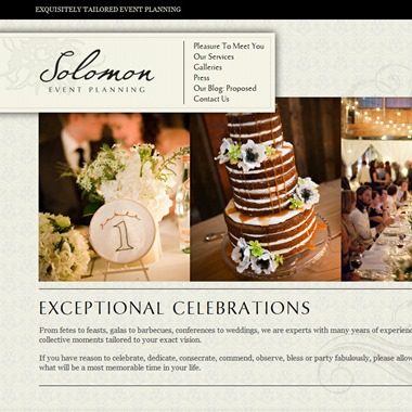 Solomon Event Planning wedding vendor preview