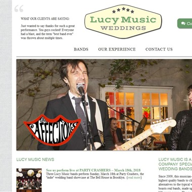 Lucy Music wedding vendor preview