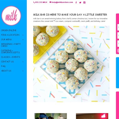Milk Bar wedding vendor preview