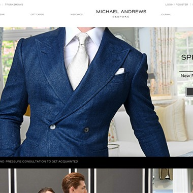 Michael Andrews Bespoke wedding vendor preview