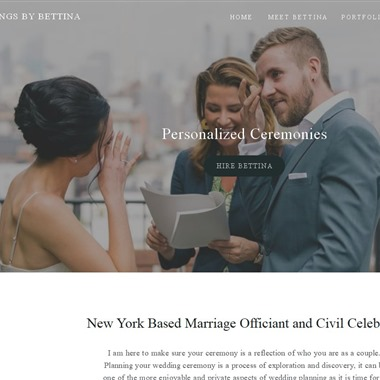 Weddings by Bettina wedding vendor preview