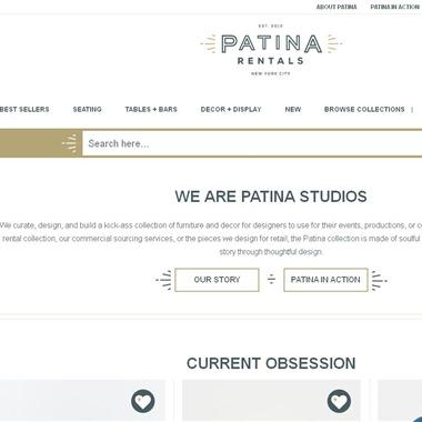 Patina Rentals wedding vendor preview
