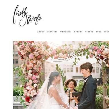 Firefly Events wedding vendor preview