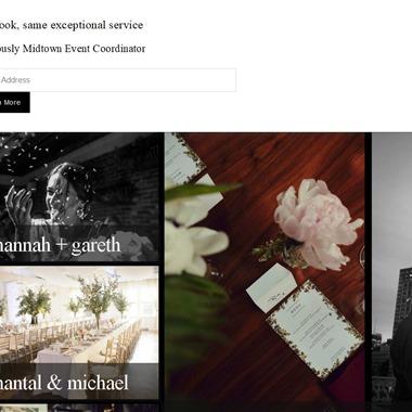 Blossom Events wedding vendor preview