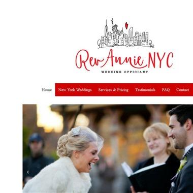 Rev. Annie wedding vendor preview