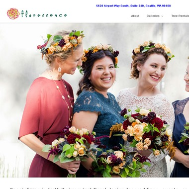Floressence wedding vendor preview