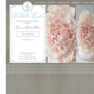 A White Cake wedding vendor preview