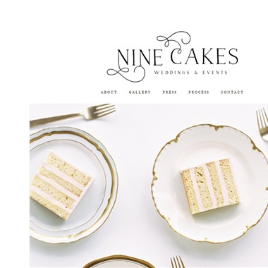 Nine Cakes wedding vendor preview