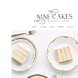Photo of Nine Cakes, a wedding cake bakery in New York