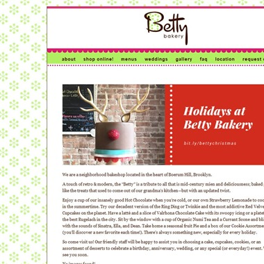 Betty Bakery wedding vendor preview