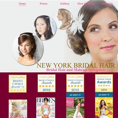 New York Bridal Hair  wedding vendor preview