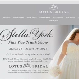Photo of Lotus Bridal, a wedding bridal boutique in New York