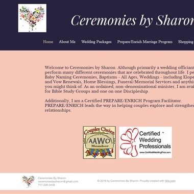 Ceremonies By Sharon wedding vendor preview