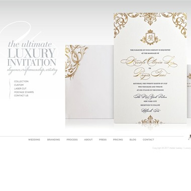 Atelier Isabey wedding vendor preview