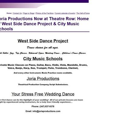 Joria Productions wedding vendor preview