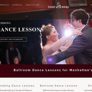 Arthur Murray Manhattan wedding vendor preview