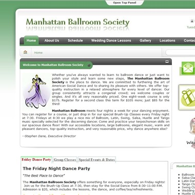 Manhattan Ballroom Society wedding vendor preview