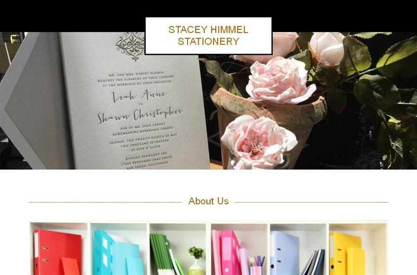 Stacey Himmel Stationery wedding vendor photo