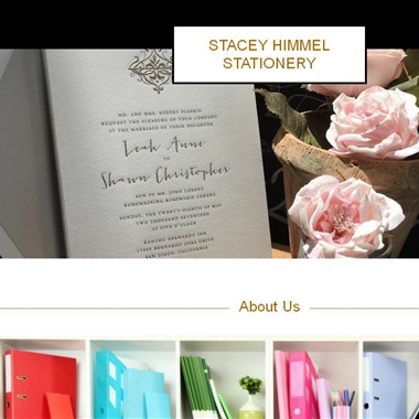 Stacey Himmel Stationery wedding vendor preview