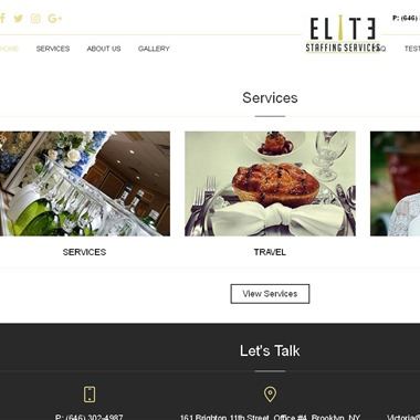 Elite Staffing Services wedding vendor preview