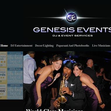 Genesis Events wedding vendor preview