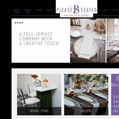 Please B Seated wedding vendor preview