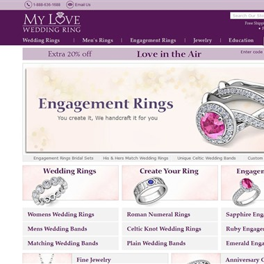 My Love Wedding Ring wedding vendor preview