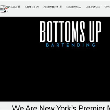 Bottoms Up Bartending  wedding vendor preview