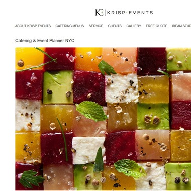 Krisp Events wedding vendor preview