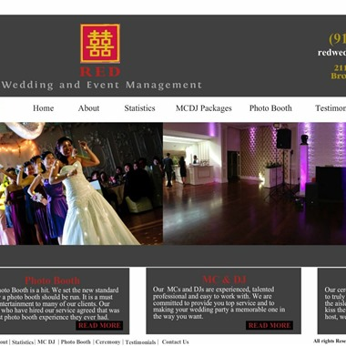 Red Weddings wedding vendor preview