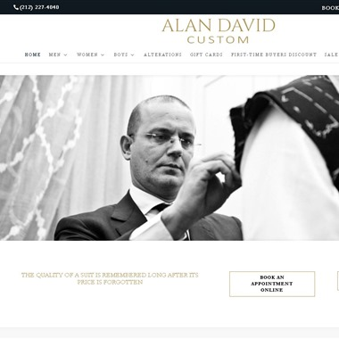 Alan David Custom wedding vendor preview
