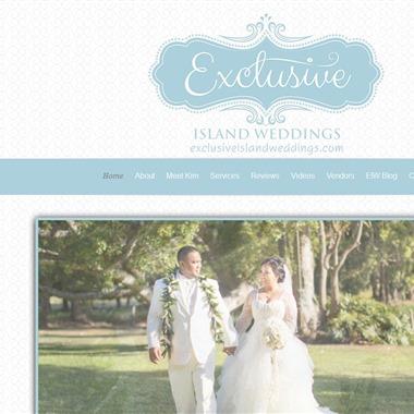 Exclusive Island Weddings wedding vendor preview