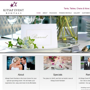 Kitsap Event Rentals wedding vendor preview