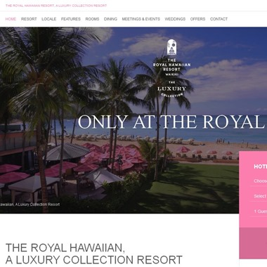 The Royal Hawaiian wedding vendor preview