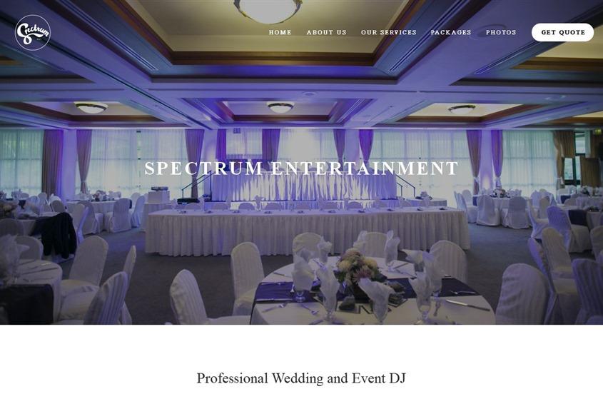 Spectrum Entertainment wedding vendor photo