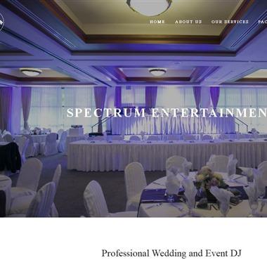 Spectrum Entertainment wedding vendor preview