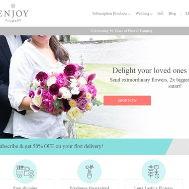 Enjoy Flowers Wedding wedding vendor preview